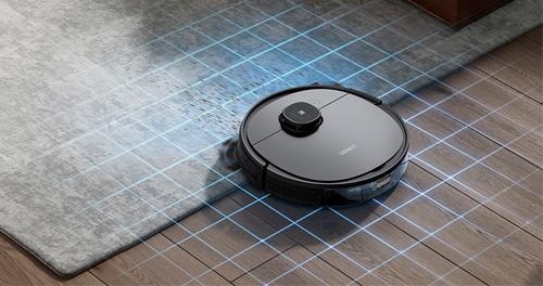 Detección de alfombras en un robot aspirador