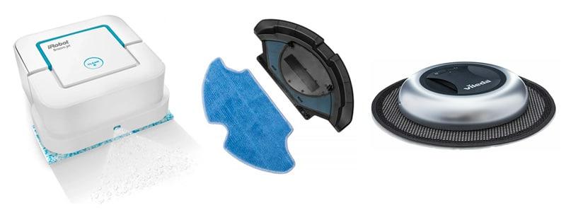 Tipos de mopa y friegasuelos - Robot aspirador